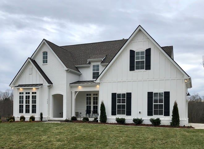 Regent Homes is offering homes with a modern farmhouse design in Fairview's new Otter Creek neighborhood.