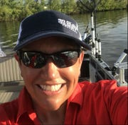 Angie Scott, who will be featured at the Nashville Boat Show, encourages women to fish.