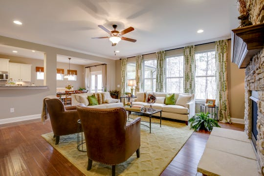 The Jones Company's homes in Otter Creek have flexible floor plans from its Heritage Collection of homes. The company also offers that collection in the Kelsey Glen neighborhood of Mt. Juliet and the River Oaks neighborhood of Lebanon.