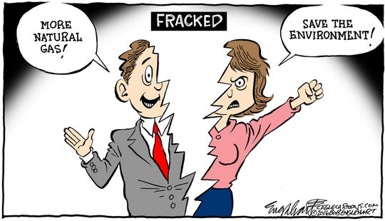 Fracking's two sides.