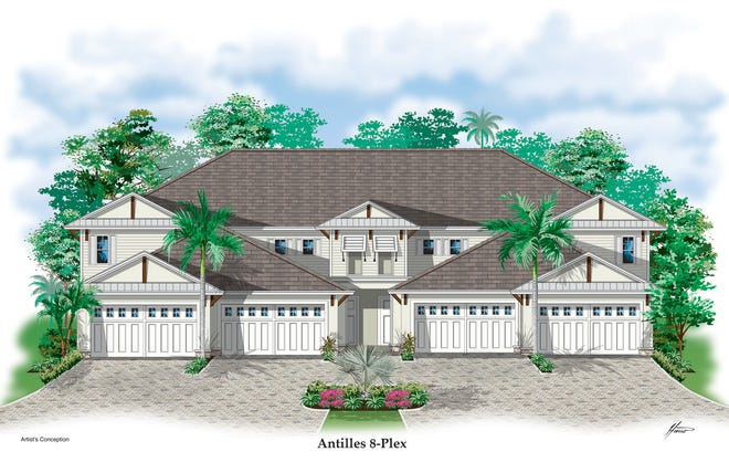 Antilles Grand Coach Homes, will be the first residences in the amenity rich site of 212 condominiums in Naples.