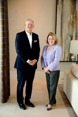 Budge Huskey (left) has been appointed CEO of Premier Sotheby's International Realty following the retirement of Judy Green (right).