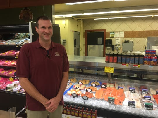 Ross' Granville Market begins 2020 with a new online ordering and pick-up service. Andrew Ross, seen here near the meat counter, says virtually all of the store's offerings are available through the new service.