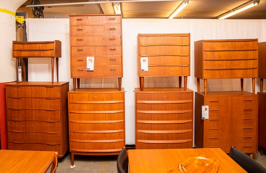 Found in Denmark, these Midcentury Modern dressers are made of teak wood and date from the 1950s and 60s. The known history and provenance of each piece is shared with buyers.