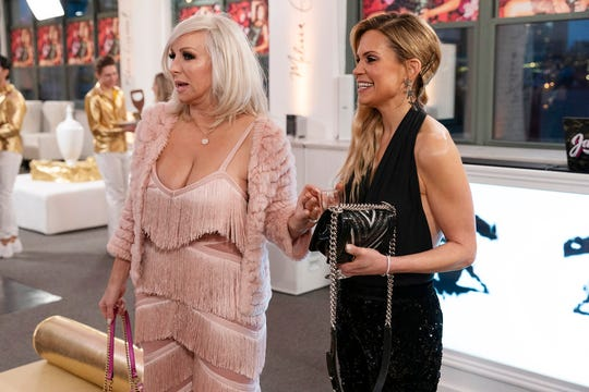 """Margaret Josephs and  Jackie Goldschneider on """"The Real Housewives of New Jersey."""""""