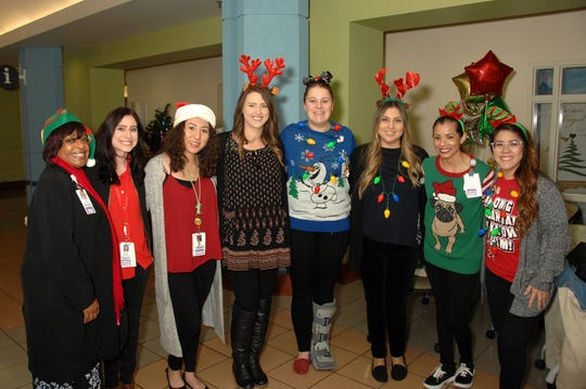 Members of the ChildLife Department at LLUCH were present to lead the volunteers.