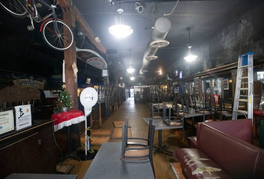 Hopjacks Pizza Kitchen and Taproom closed its doors after a New Year's Eve party Tuesday night. Cigar Factory owner David Sharruf is expected to close on the sale of the building next month and plans to turn the property into a comfort food restaurant with a New Orleans-style atmosphere.
