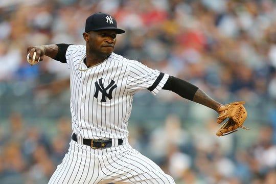 Domingo Germán, pitcher de Yankees, fue suspendido.