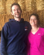 Jesse Walsh and his sister Marlena Phillips started Steaks and Cupcakes LLC at the family farm in 2017 in Sanilac County.