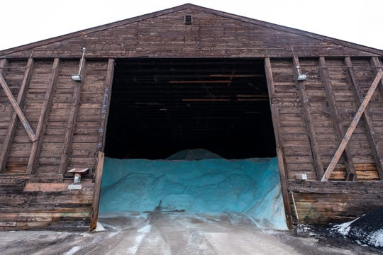 St. Clair County Road Commission said the lack of snow has had a positive impact as they have had to use less resources, like road salt and plow trucks.