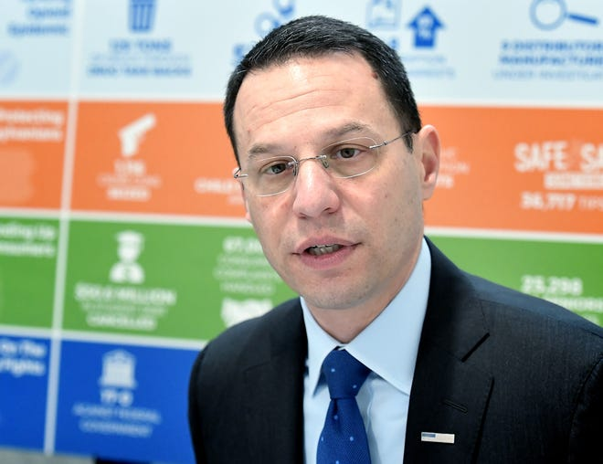 Pennsylvania Attorney General Josh Shapiro said 1,171 reports havebeen received to date and his office has followed up with 45 verified complaints and dispensed 34 cease and desist letters and subpoenas.