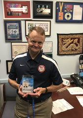 Dr. Mark Lavallee has been to every Olympic Trial since 2000 with USA Weightlifting. Lavallee will attend the 2020 Summer Olympics in Tokyo, Japan.