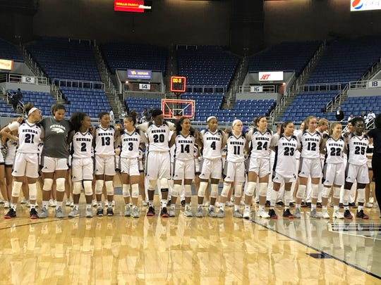 Nevada lost at Colorado State on Wednesday and plays at defending Mountain west champion Boise State on Saturday.