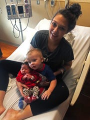 Shawnee Buchanan is the mother of both the first baby born in Richmond in 2020, Sophia, and the last baby born in Greensburg, Ind., in 2018, 1-year-old Jaxon.