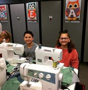 Sewing Party At Angelo West Branch Library hosted by Sewority House.