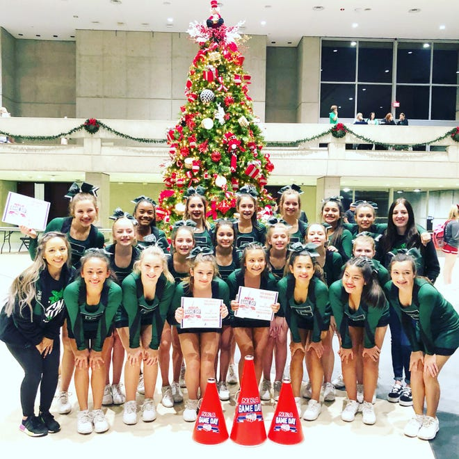 The Glenn Middle School cheer team competed in the NCA State competition on Dec. 15 and came back as champions for the second year in a row.