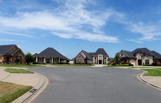 Homes in Bossier City.