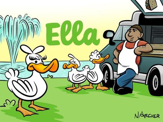 Ella and the gang hang out at their favorite Tallahassee lake.