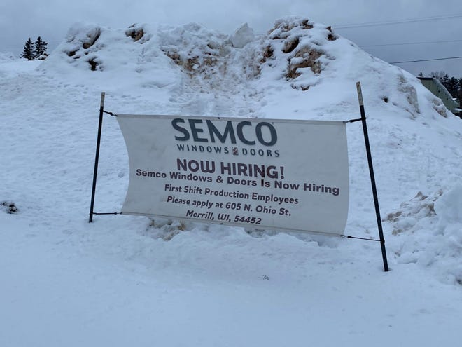 Semco Windows and Doors in Merrill closed Tuesday.