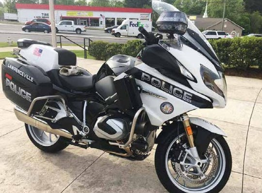 A BMW police motorcycle, similar to ones that are used by the Wichita Falls Police Department. The Wichita Falls City Council is looking to expend about $81,000 for three new motorcycles for the WFPD.
