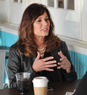 Congressional candidate Elaine Hays discusses what she thinks sets her apart from the other 17 candidates running for the 13th Congressional District seat during a visit Thursday, Jan. 2, 2020, to Wichita Falls.