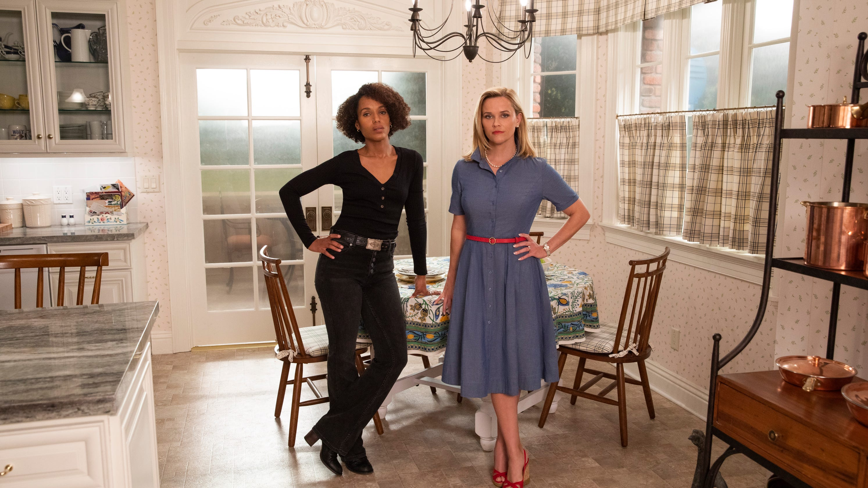 Coronavirus: Reese Witherspoon, Kerry Washington on canceled premiere, 'social distancing'