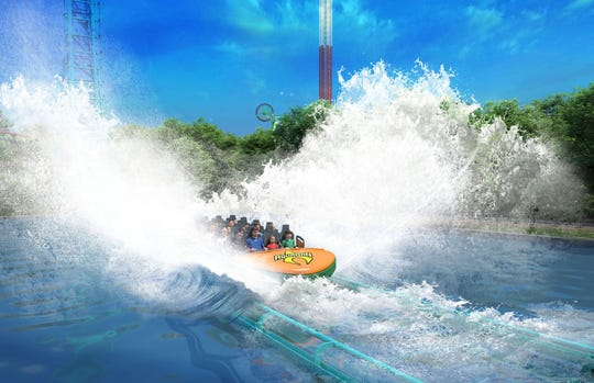 Aquaman: Power Wave lives up to its name by creating a splash during its final phase.