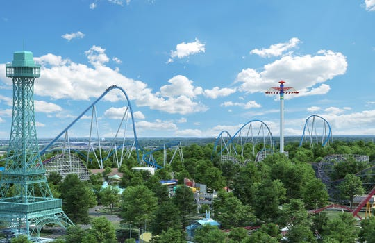 With a 300-foot drop and a furious speed of 91 mph, Orion will take its place among the tallest and fastest rides on the planet.