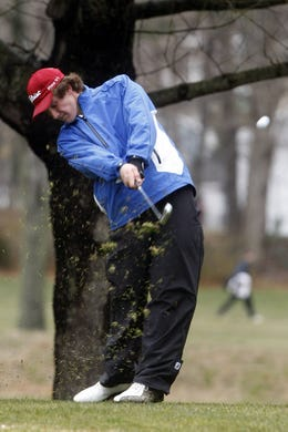 Charlie Edler, Rumson, competes in the season-opening Wall Invitational at Shark River Golf Course in Neptune.