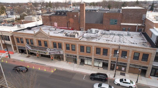 The front of the Count Basie Theatre in Red Bank is shown Thursday, January 2, 2019.