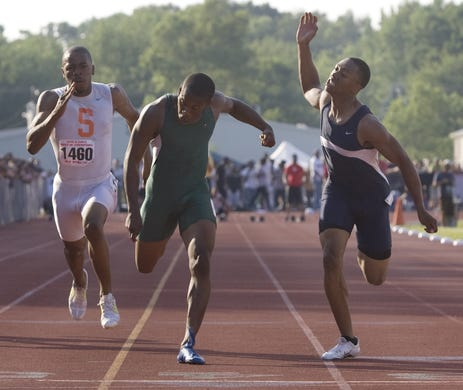 Long Branch's Miles Shuler-Foster wins the 100 at the Meet of Champions