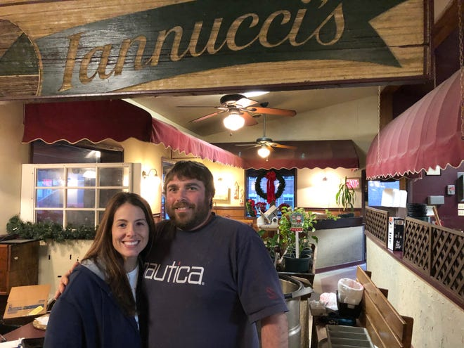 After a four-decade run, Iannucci's Pizzeria & Italian Restaurant closed its doors Dec. 31. Owners Danielle and Nick Iannucci say business was good but they want to spend more time with their daughters.