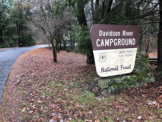 Davidson River Campground in the Pisgah National Forest will close Jan. 15 for about a month while hazard trees are removed.