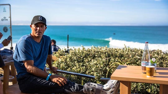 In July 2017 in East South Africa, the then 45-year-old Kelly Slater, a Cocoa Beach native and probably the world's best-known surfer, broke two metatarsal bones in his right foot after getting jostled in a barrel while practicing for a World Surf League event. It was Slater's fifth foot injury as a pro.