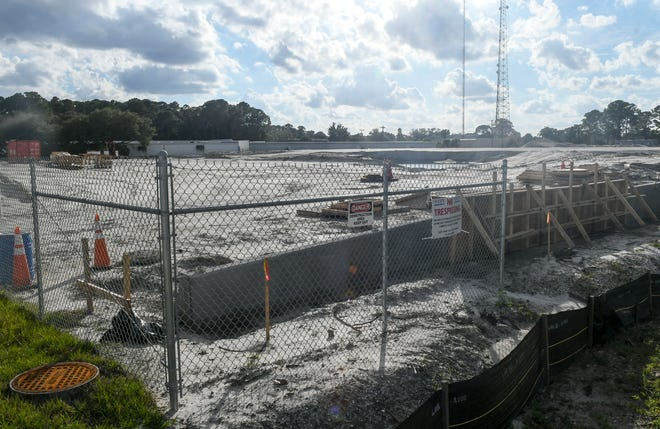 Site prep work begins on the new Brevard County Emergency Operations Center in Rockledge.