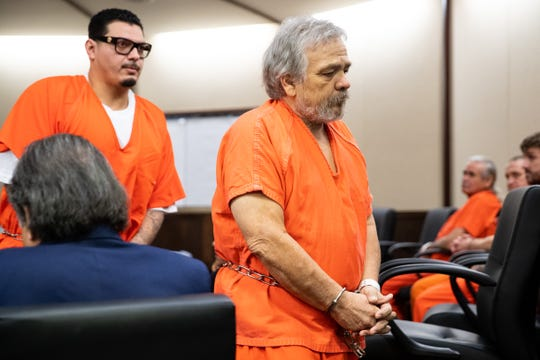 Marcus Villarreal appears in the 117th District Court on Jan, 3, 2020. Marcus Villarreal is accused of fatally shooting 65-year-old Roberto Serata in October 2019 near the AMC Corpus Christi 16 movie theater on Silverberry Drive.