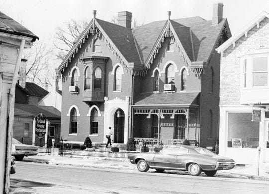 The Poland House, 69 W. Second St., was home to a restaurant in the 1970s.