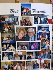 A photo collage highlights the lives of Bill and Nancy Schafrath, of Wooster, who died within five hours of each other on Christmas Eve.