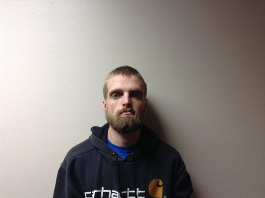 Daniel Tasler, 28, shown in is Greene County mugshot.