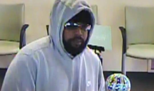 Police are looking for this man who robbed a Huntington Bank on 10 Mile near Schoenherr on Thursday.