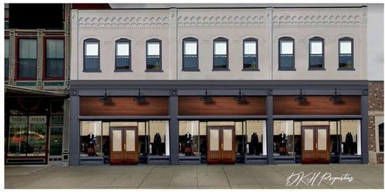 Rendering of new Franklin Street development
