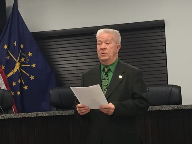 State Rep. Ron Bacon announces he's leaving the General Assembly upon completion of his current term.