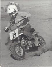 Sam Schmidt racing at 5 years old.