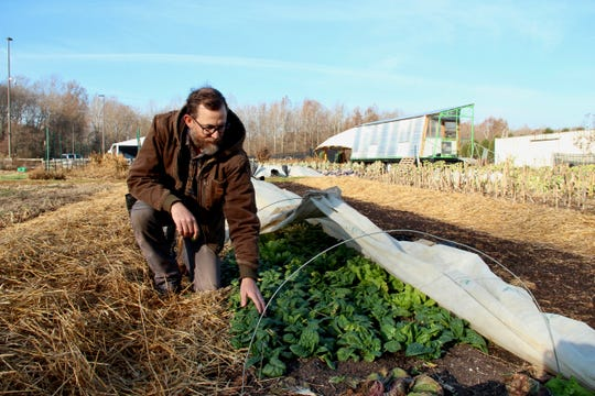 Tim Dorsey, has been farm manager of the Farm at Butler since 2011.