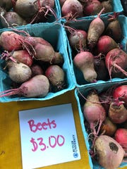 The Farm at Butler sells produce at weekly farm stands throughout the summer and early fall.