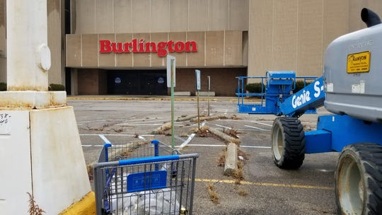 A Burlington store at Washington Square Mall on Indianapolis' east side shown on Jan. 3, 2020. The store was set to close on Jan. 24, property manager Keith Lee said.