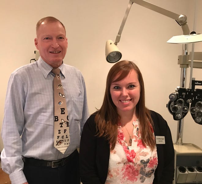 Optometrist Dr. Robert Kreuter sold his practice at 1222 N. Memorial drive to Dr. Ashley Hughes as he plans his retirement. He plans on working part-time for Hughes until later this year.