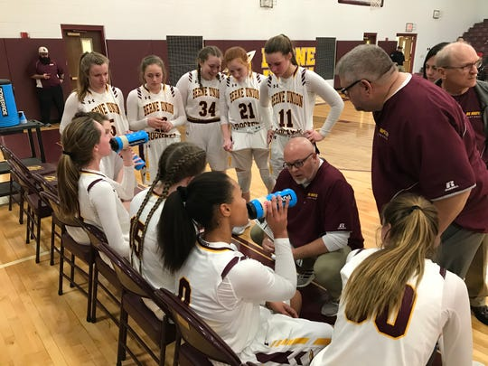 Berne Union's Matt Little was named Central District Division IV Girls Coach of the Year.