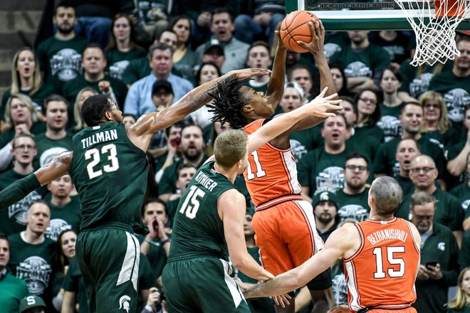 MSU beat Illinois by 20 points on Jan. 2 in East Lansing. Tuesday night's battle with Ayo Dosunmu and Co. figures to be different.