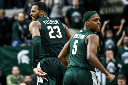 Cassius Winston and Xavier Tillman played their best basketball of the season collectively in Thursday night's win over Illinois.